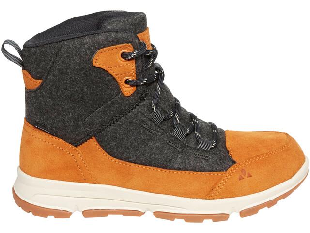 VAUDE UBN Kiruna Mid CPX Chaussures Enfant, orange madder